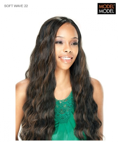 Model Model Weave Extention - SOFT WAVE 22  Synthetic Weave Extention